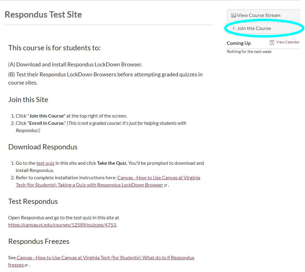 Canvas - How to Use Canvas at Virginia Tech (for Students